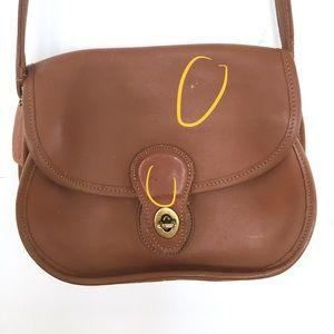 Coach Bags - Vintage Coach brown prairie saddle crossbody